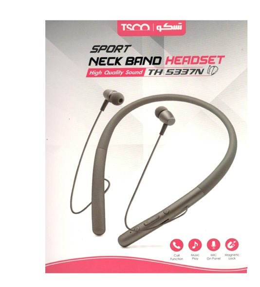 TSCO TH 5337N Neckband Bluetooth Headphone